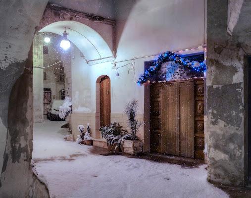 Neve su Grottaglie, Puglia. di Domenico Lacava