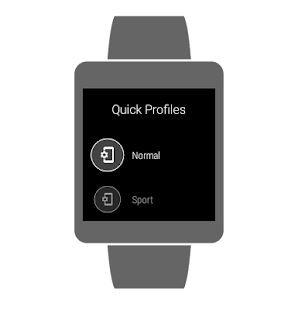 Quick Profiles- screenshot thumbnail