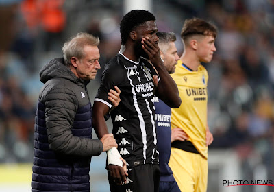 Speler Charleroi opnieuw klaar om te spelen na jukbeenbreuk