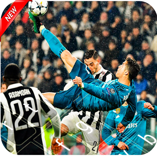 Keyboard 2018 - Cristiano Ronaldo RMA & Football.