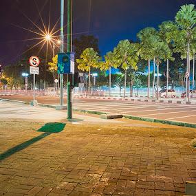 Jember by Hsn Doel - City,  Street & Park  Night