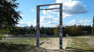 Photo: Mauerpark; Blick über Gesundbrunnen