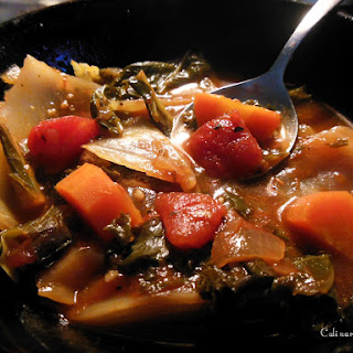 Delicious, Low Calorie Rustic Vegetable Soup Recipe