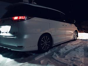エスティマ ACR55W アエラス 平成24年式 3型後期 4WD 寒冷地仕様のカスタム事例画像 ぐで吉さんの2018年12月18日19:04の投稿