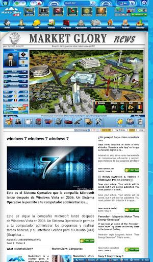 MarketGlory 0.95 screenshots 2