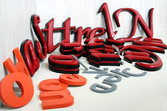 Photo: 3D Letters shipped to Walnut Creek CA More @ www.nicecarvings.com