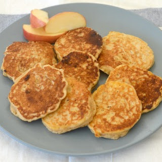 Wholemeal Apple and Cinnamon Pikelets.