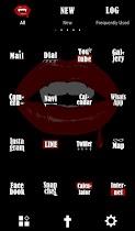 Vampire Lips Free Theme - screenshot thumbnail 03