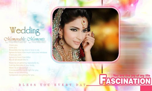 Wedding Frames By Maruthi Apps screenshot