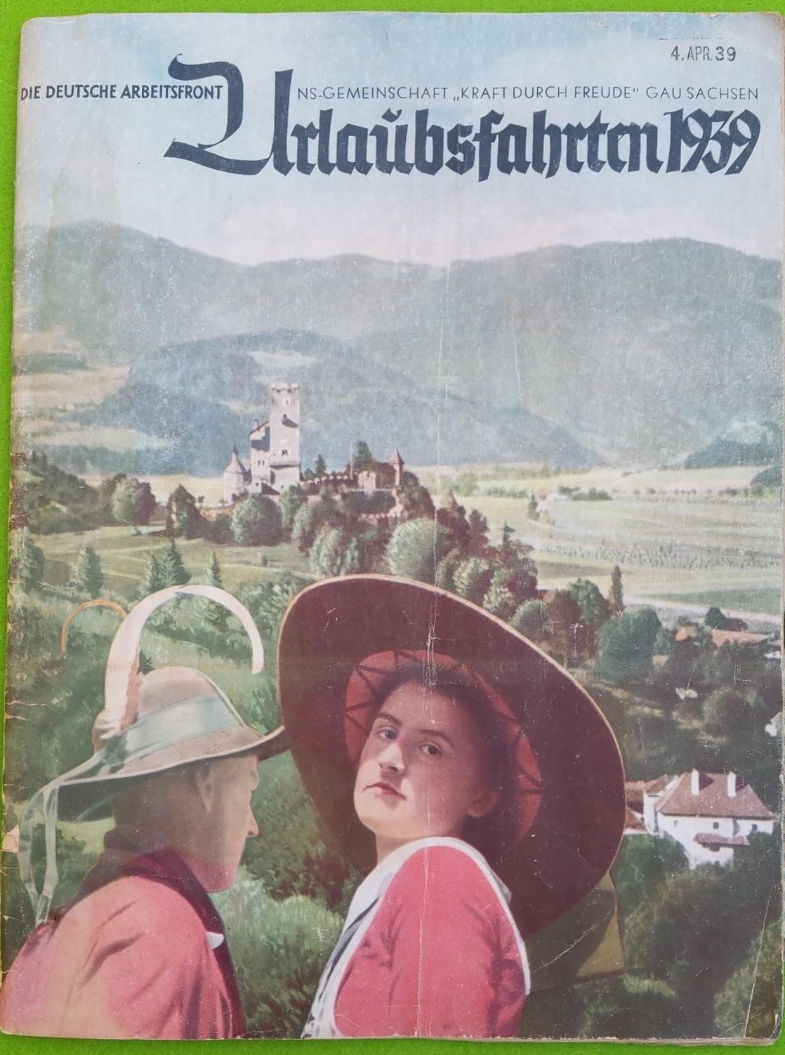 Urlaubsreisen 1939 - Brot und Spiele