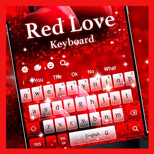 Red Love Keyboard