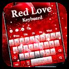Rote Liebes-Tastatur icon