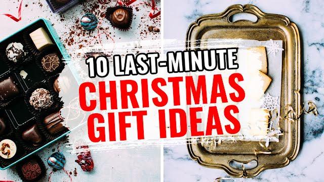 Ten Last-Minute Gift Ideas - Christmas Template