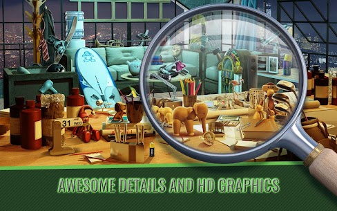 Hidden Object Haunted House of Fear – Mystery Game 2