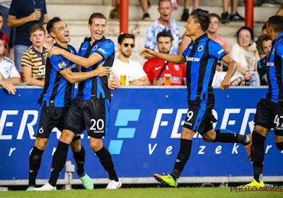 Même à dix, le Club de Bruges était plus fort