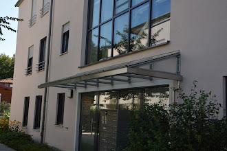Photo: Glasvordach Wohnhausanlage Traunstein BRD