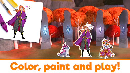 Disney Coloring World apkpoly screenshots 9