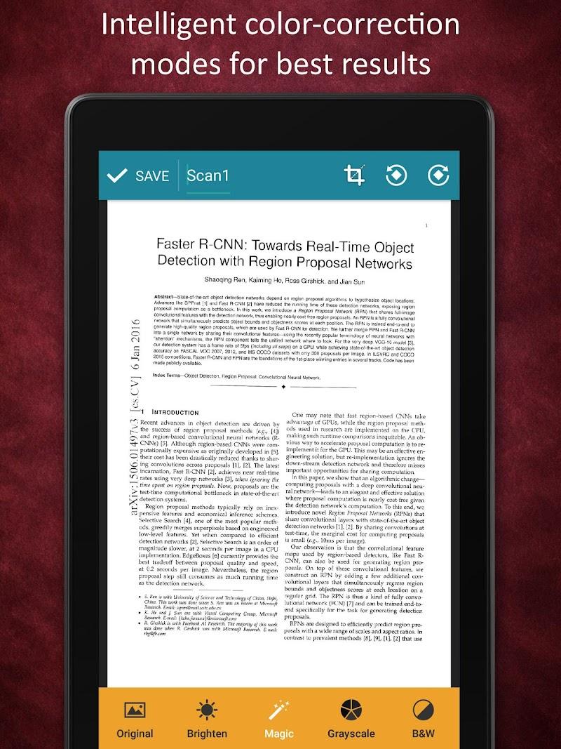 Smart Doc Scanner: Free PDF Scanner App Screenshot 10