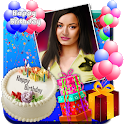Birthday Photo Frames, Greetings and Cakes 2021 icon