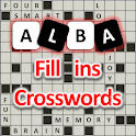 Fill ins puzzles,addictive cross word puzzle games icon