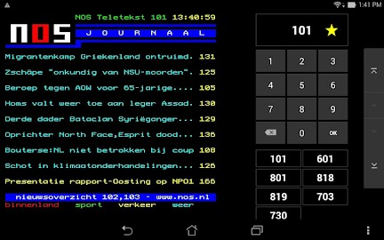 NOS Teletekst Screenshot 4