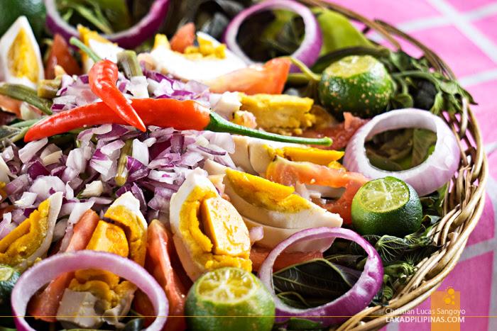 Sinigang Salad Nueva Ecija
