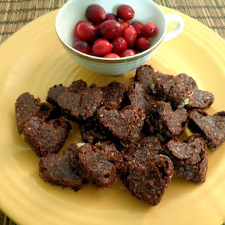 Cranberry Brownies.
