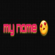 My name LED icon