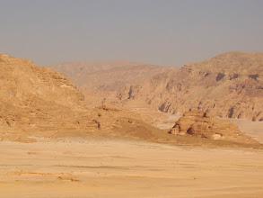 Photo: #003-Le désert sur la route de Sainte Catherine