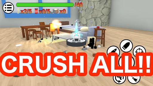 Crazy Cleaning Crush Simulator  captures d'écran 1
