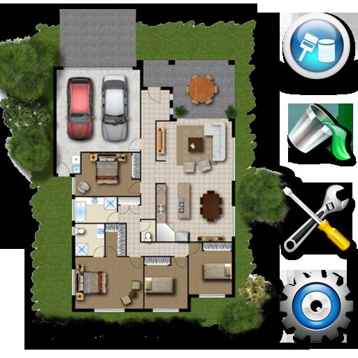 生活のプランナー3Dホームデザイン LOGO-記事Game