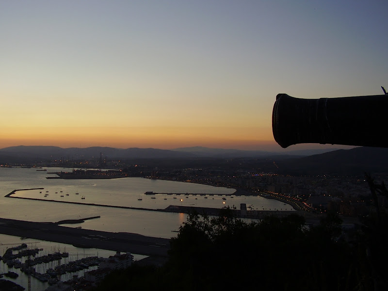 Tramonto dalla Rocca di Gibilterra di Agocentrico