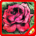 How to Draw a Rose Flower icon