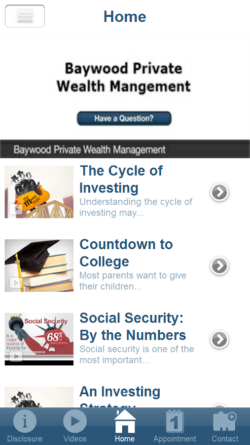 Baywood Private Wealth- screenshot