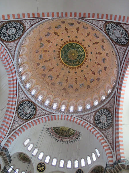 Süleymaniye Mosque Ceiling