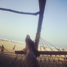 """Photo: Photo captioned """"View right now! #Beach #Hammocks Not #MumbaiLocal #Twitter"""" uploaded to Facebook on December 15, 2013 at 08:58AM"""