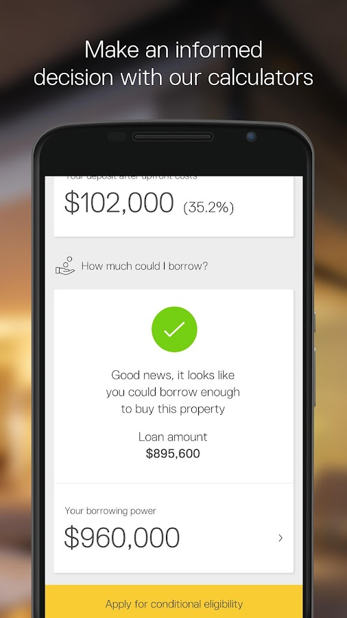 CommBank Property- screenshot