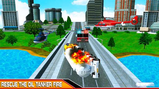 NewYork Rescue Firefighter Emergency truck sim2019  screenshots 2