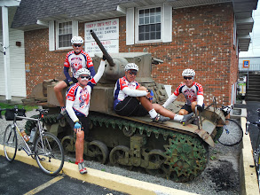 Photo: Day 50 August 7 Oneida to Herkimer NY  Small town along the way, photo op