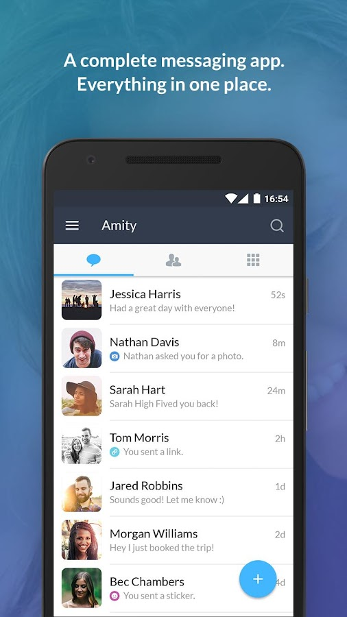 Amity (beta)- screenshot