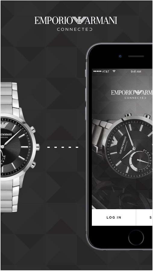 Emporio Armani Connected- screenshot