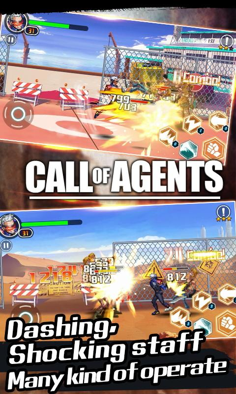 Call of Agents-Action RPG game- screenshot