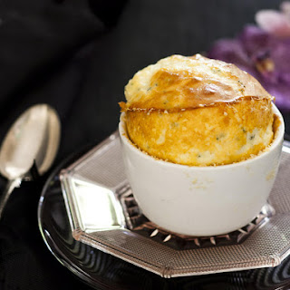 Three Cheese Soufflé.