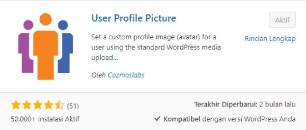 Langkah-Penting-Setelah-Install-WordPress-Install-Plugin-User-Profile-Picutre