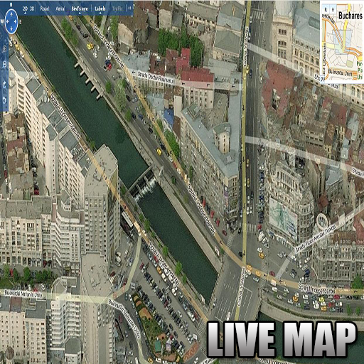 GPS LIVE MAP Guide Screenshot