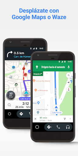 Android Auto: Google Maps, multimedia y mensajería screenshot