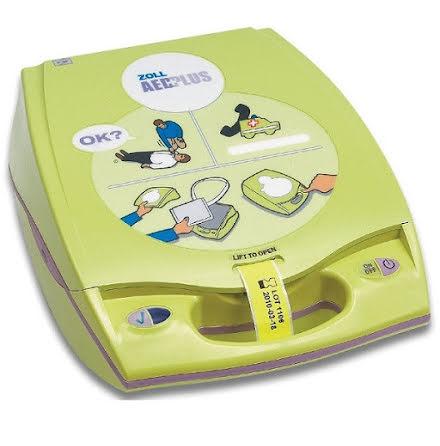 Defibrillator - Hjärtstartare - Zoll AED Plus