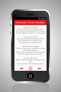 Frank Sinatra Mp3 Lyrics screenshot 1