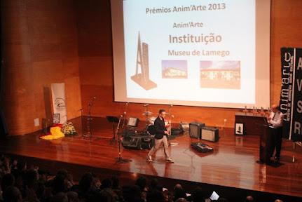 """Anim'Arte premiou Museu de Lamego na categoria """"Institucional"""""""