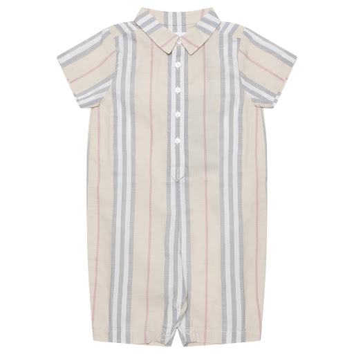 Primary image of Burberry Faded Babygrow